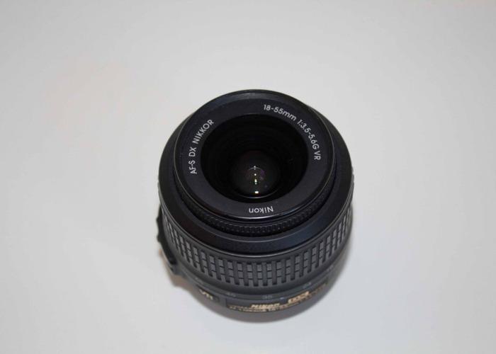 AF-P DX NIKKOR 18-55mm f/3.5-5.6G - 2