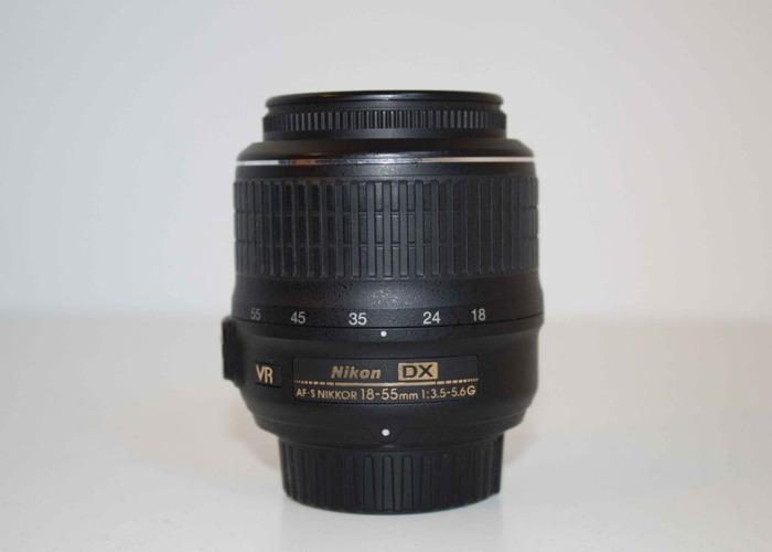 AF-P DX NIKKOR 18-55mm f/3.5-5.6G - 1