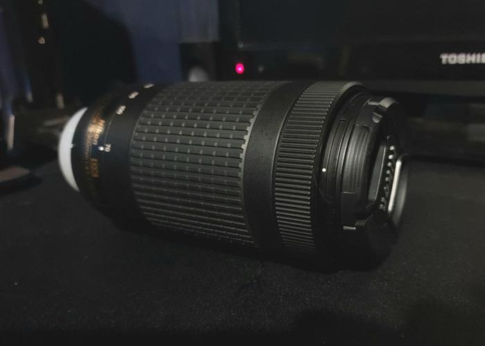 AF-P Nikkor DX 70-300mm 1:4.5-6.3G ED - 1
