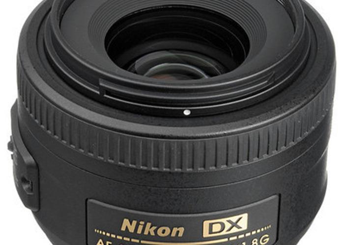 AF-S DX NIKKOR 35mm f/1.8G Lens - 1