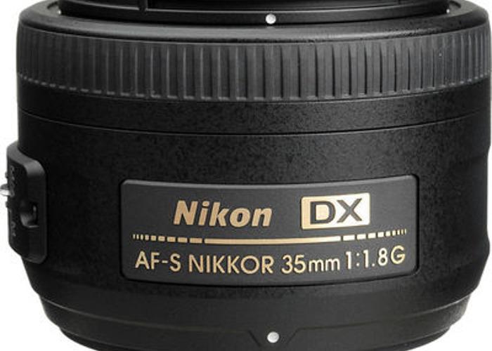 AF-S DX NIKKOR 35mm f/1.8G Lens - 2