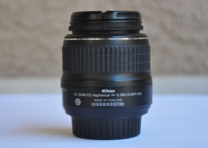Nikon 18-55mm f/3.5-5.6G AF-S DX Zoom-Nikkor ED II DSLR Camera Lens - 2