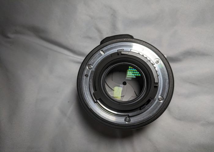 AF-S NIKKOR 50mm 1:1.8G LENS + HOYA REVO UV FILTER - 1