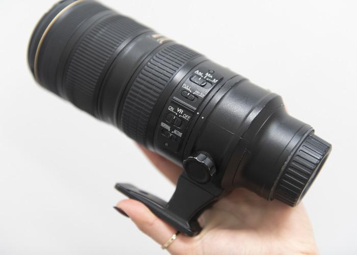 Nikon Nikkor 70-200mm f 2.8 ED VR II telephoto zoom lens - 1