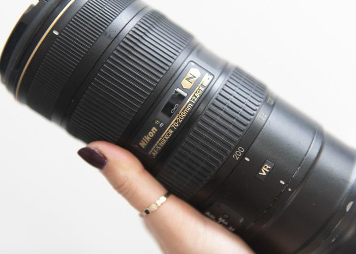 Nikon Nikkor 70-200mm f 2.8 ED VR II telephoto zoom lens - 2