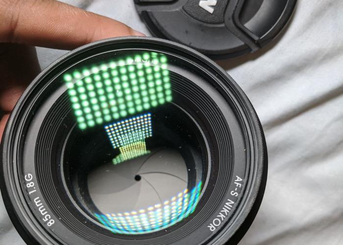 AF-S NIKKOR 85mm 1:1.8G LENS + HOYA REVO UV Filter - 2
