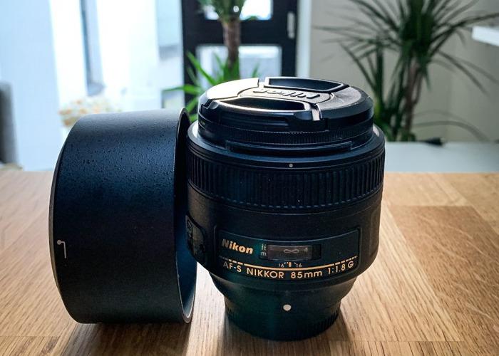 AF-S NIKKOR 85mm f/1.8G - 1
