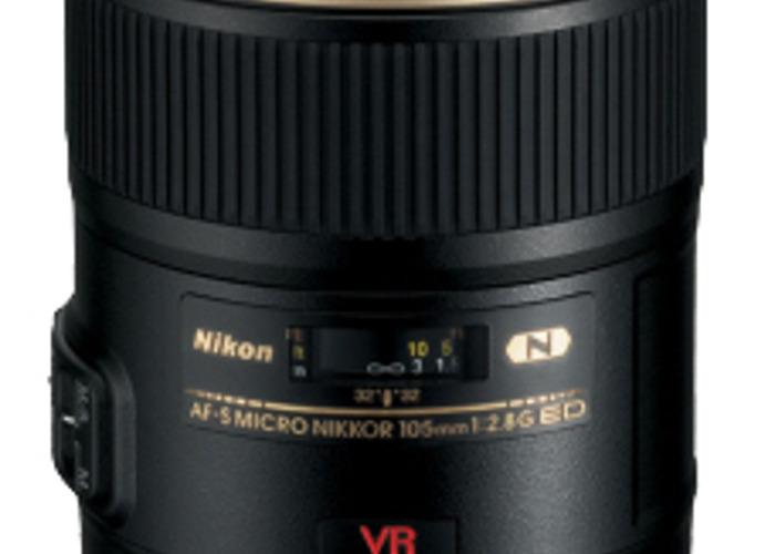 AF-S VR Micro-NIKKOR 105mm f/2.8G IF-ED Lens - 1