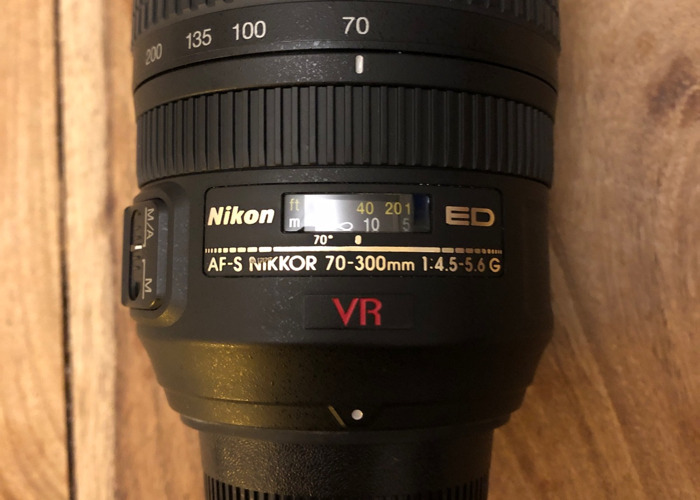 AF-S VR Zoom-Nikkor 70-300mm f/4.5-5.6G IF-ED - 2