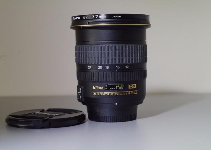 AF-S Zoom-Nikkor ED 12-24mm f/4G IF DX - 1