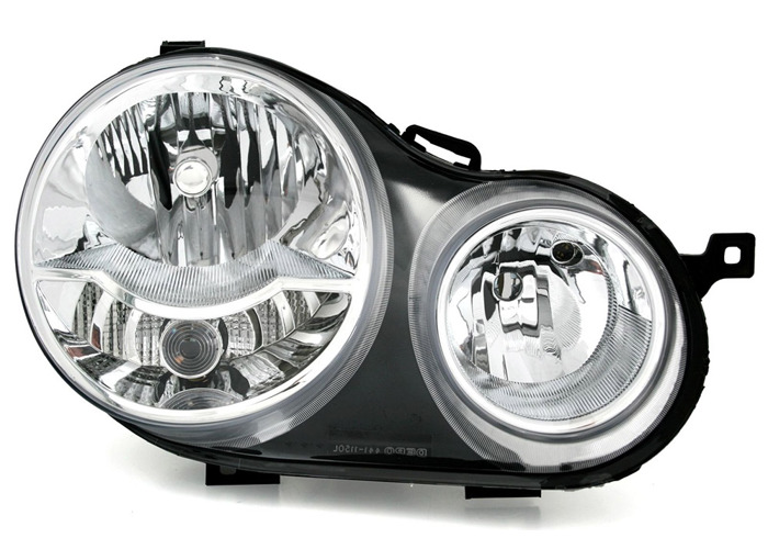 Aftermarket RHD Front Right Headlight Halogen H1 H7 PY21W W5W For VW POLO 9N - 1