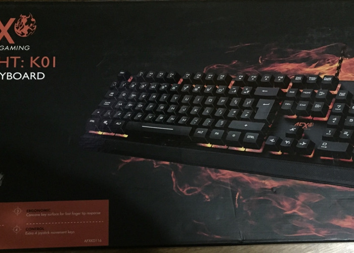 AFX Firefight K01 Gaming Keyboard - 1