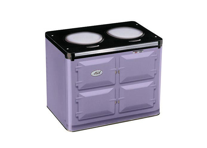 AGA Oven Shaped Tin, Purple - 1