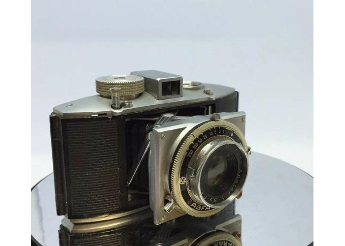Agfa Karat 12 Camera- with Agfa Apotar 55mm- f/3.5 Lens  1950 rangefinder camera - 1
