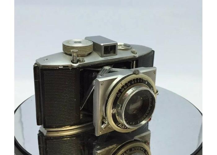Agfa Karat 12 Camera- with Agfa Apotar 55mm- f/3.5 Lens  1950 rangefinder camera - 2