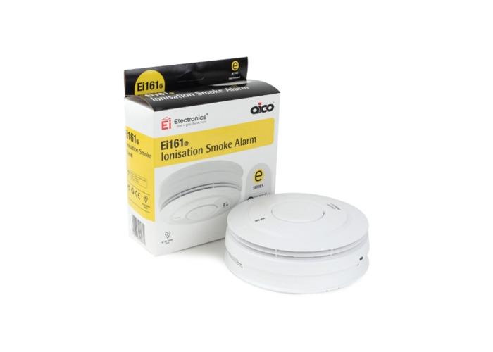 Aico Ionisation Smoke Alarm - Mains Powered with Lithium Back-up, RadioLink + - 1