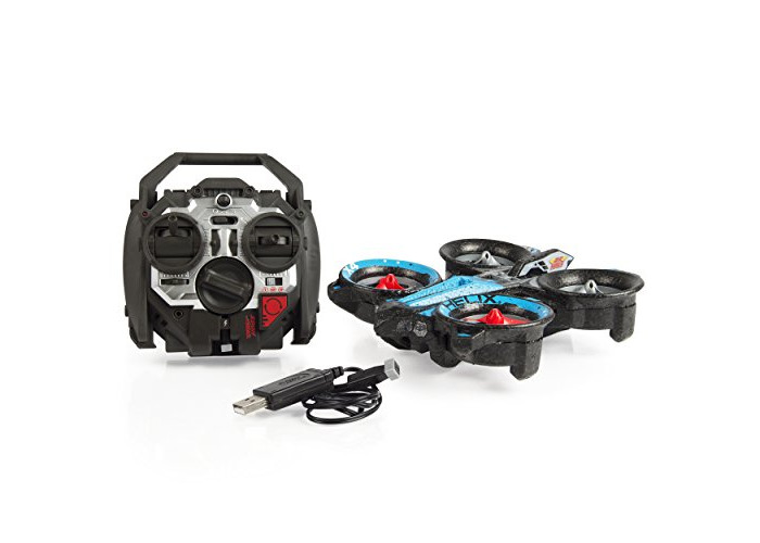 Air Hogs RC Helix X4 Stunt 2.4 GHz Quadcopter, Blue/Red - 2