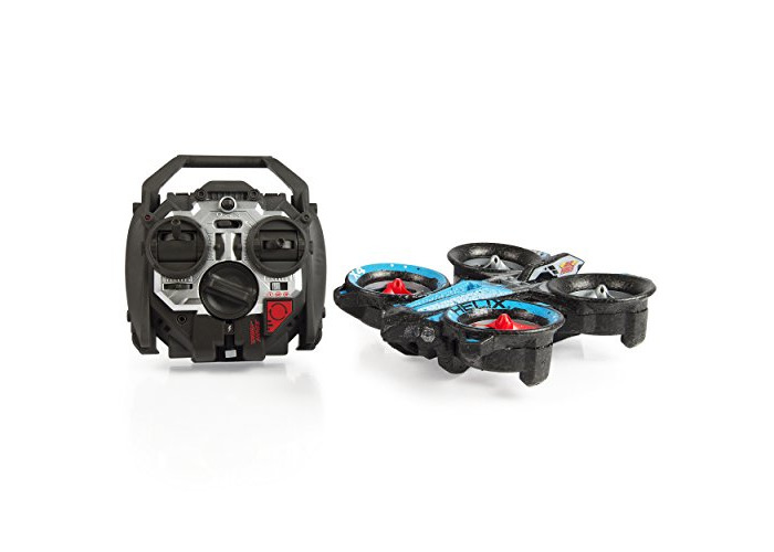Air Hogs RC Helix X4 Stunt 2.4 GHz Quadcopter, Blue/Red - 1