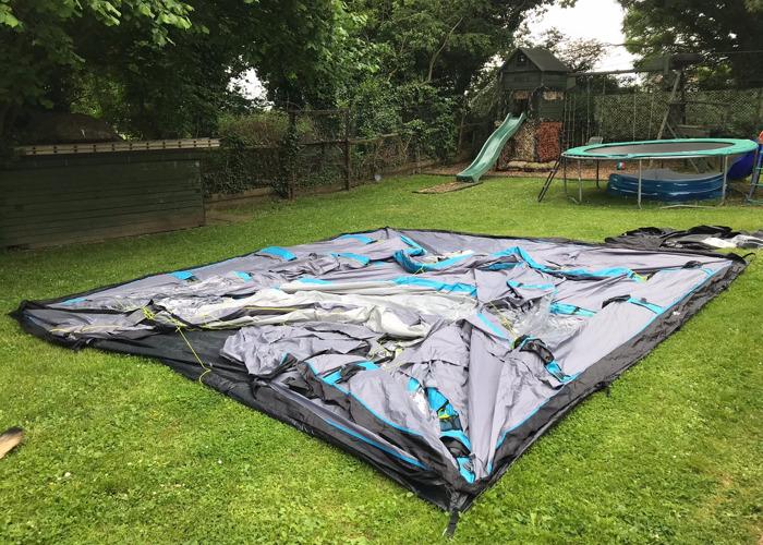 Airgo horizon 6 inflatable tent - 1 & Rent Airgo horizon 6 inflatable tent   Fat Llama