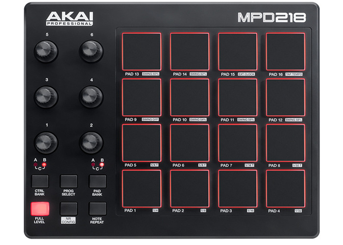 Akai MPD218 DRUM PAD - 1