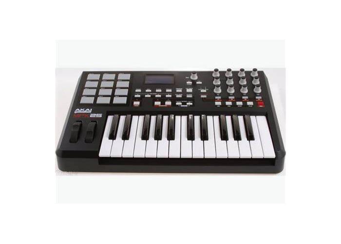 Akai MPK25 midi keyboard  - 1