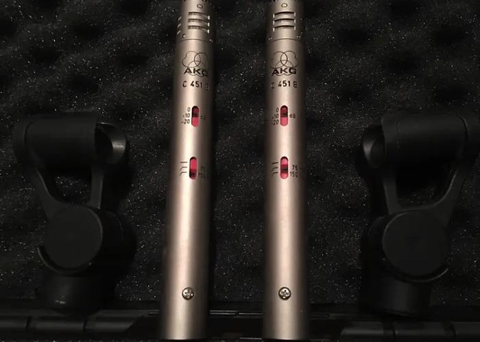 AKG C451B Stereo Set - 1