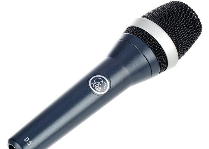 AKG D5 - Dynamic Vocal Microphone - 1