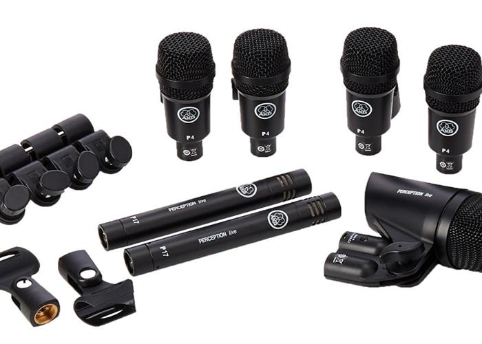 AKG Drum Set Session 1 Drum Microphone Pack - 1