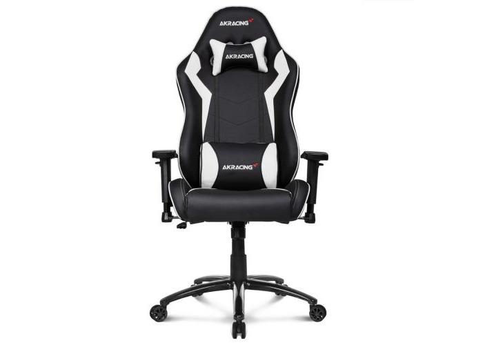 AKRacing Core Series SX Gaming Chair, Black & Grey, 5/10 Year Warranty - 1