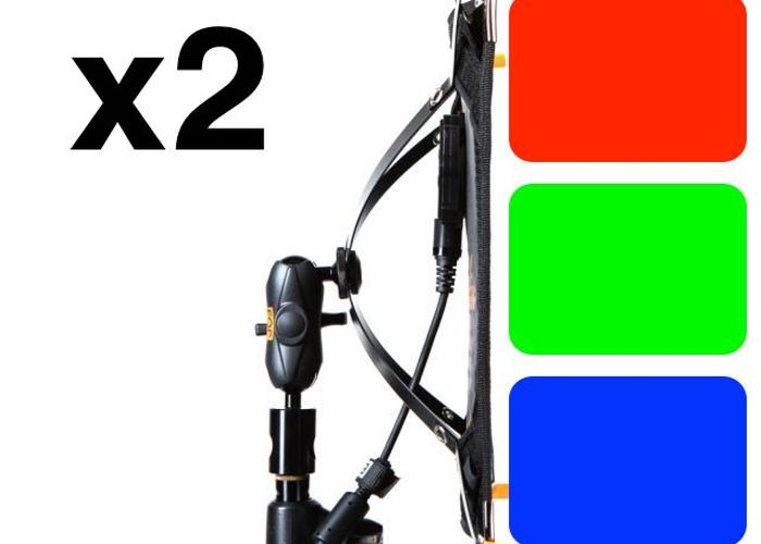 Aladdin RGB flex matts (2x1) x 2 - 1