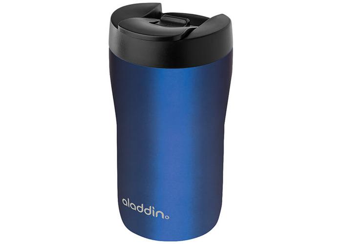 Aladdin 250ml Leak-Lock Blue Latte Travel Mug - 1