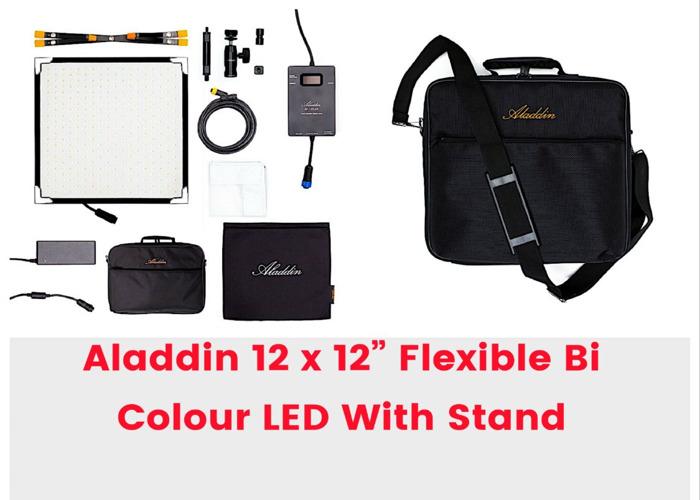 Aladdin Flexible Bi-Color LED Panel Light Video 120 aputure  - 1