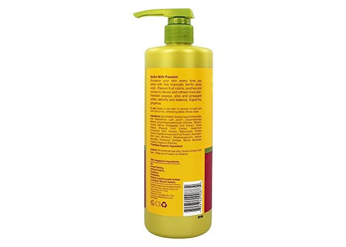 Alba Botanica - Body Wash Passion Fruit - 24 fl. oz. - 2