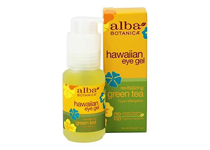 Alba Botanica–with Green Tea Hawaiian Eye Gel DEFATIGANT - 1