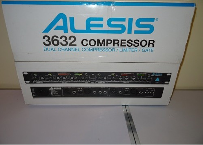 Alesis 3632 Audio Compressor - NEW - 1