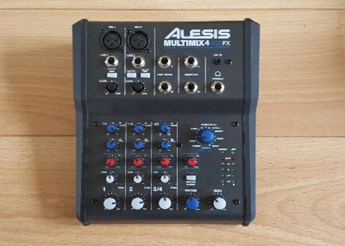 Alesis Multimix 4 USB FX Mixing desk - 1