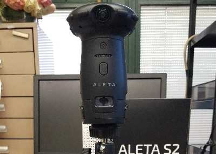 Rent aleta s2 12k 360 camera | Fat Llama