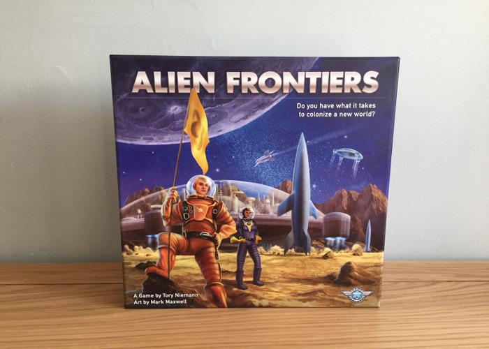Alien Frontiers Board Game - 1