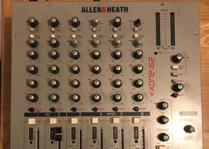 Allen & Heath Xone:62 DJ Mixer - 1
