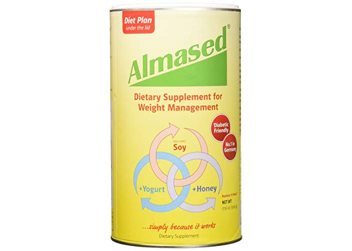 Almased - Multi Protein Powder - Supports Weight Loss, Optimal Health and Maximum Energy, 17.6 oz (2 Pack) - 1