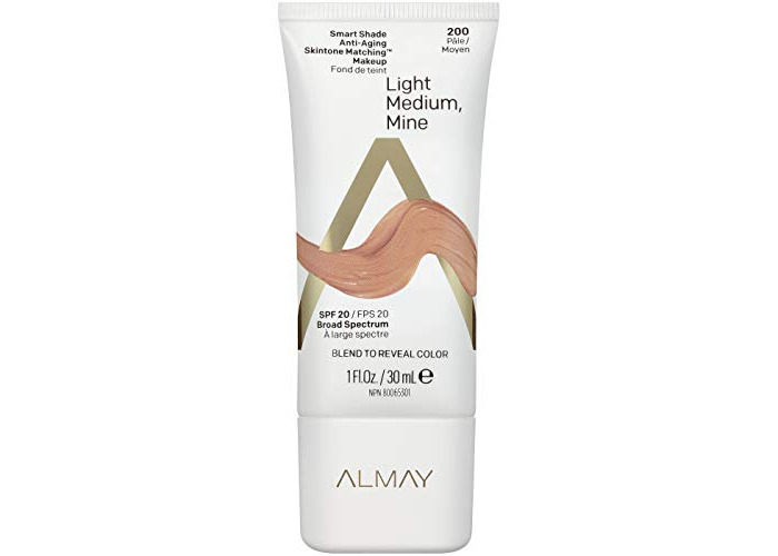 Almay Smart Shade Anti-Aging Skintone Matching Makeup 200 - 1