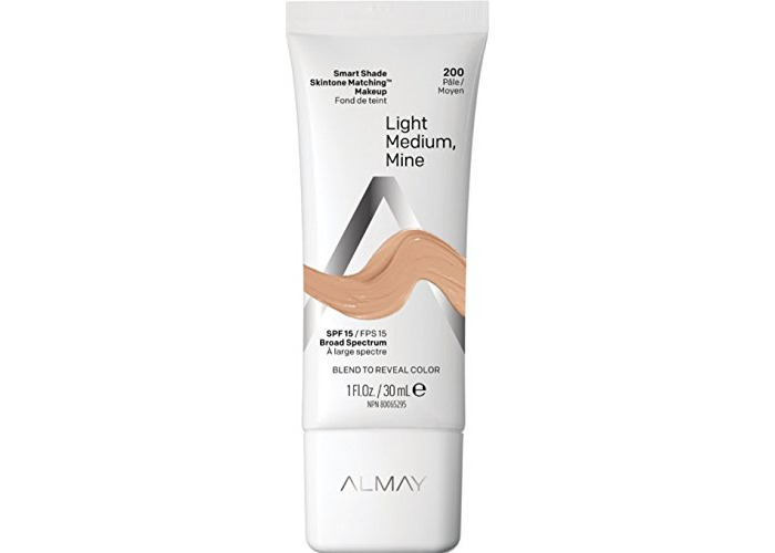 Almay Smart Shade Makeup SPF 15 Foundation Makeup 1fl oz (200 light/medium - 1