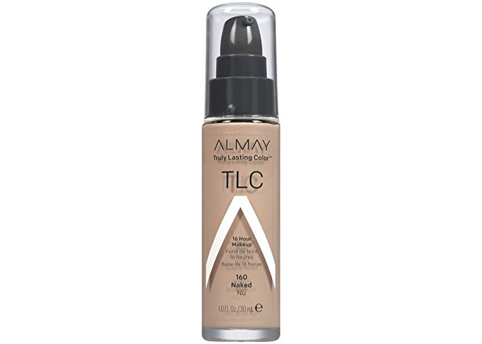Almay TLC Truly Lasting Color Makeup, Naked 160, 1-Ounce Bottle - 1