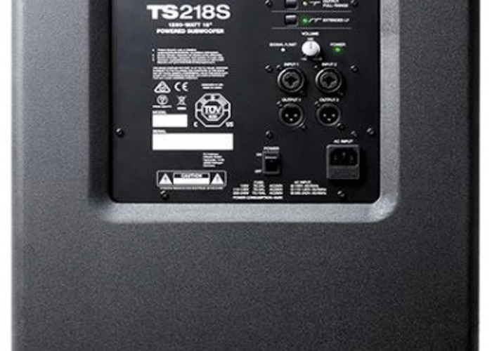Alto Truesonic TS218S Active Subwoofer - 1
