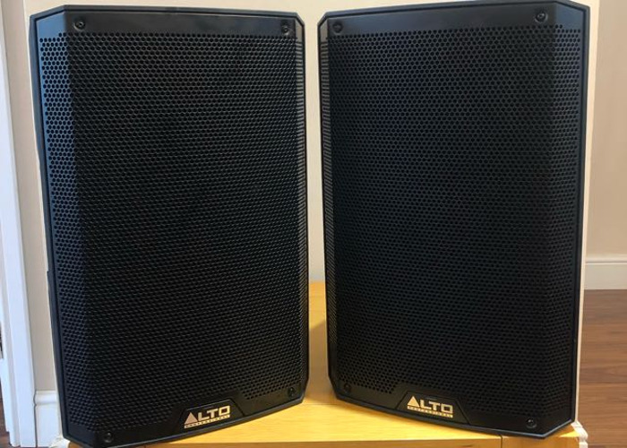 ALTO TS310 Speakers - X2 (Pair) w/ Stands - 1