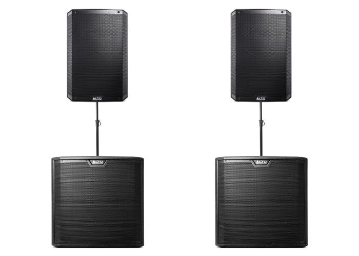 Alto TS312 and TS315S PA Speaker Bundle (8kw) - 1