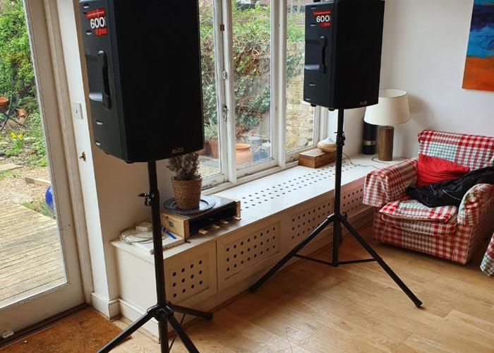Alto TX215 600 Watt Active Speakers With Stands, for parties, weddings, bands, DJs - 2