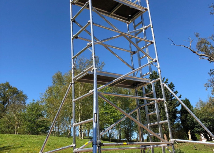 Aluminium scaffold tower 7.2m - 1
