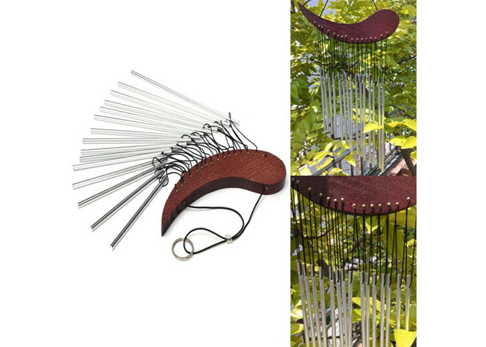 Aluminum Tube Wind Chime Chimes Healing Sound Garden  Living Decor - 1