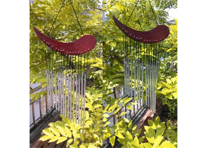 Aluminum Tube Wind Chime Chimes Healing Sound Garden  Living Decor - 2